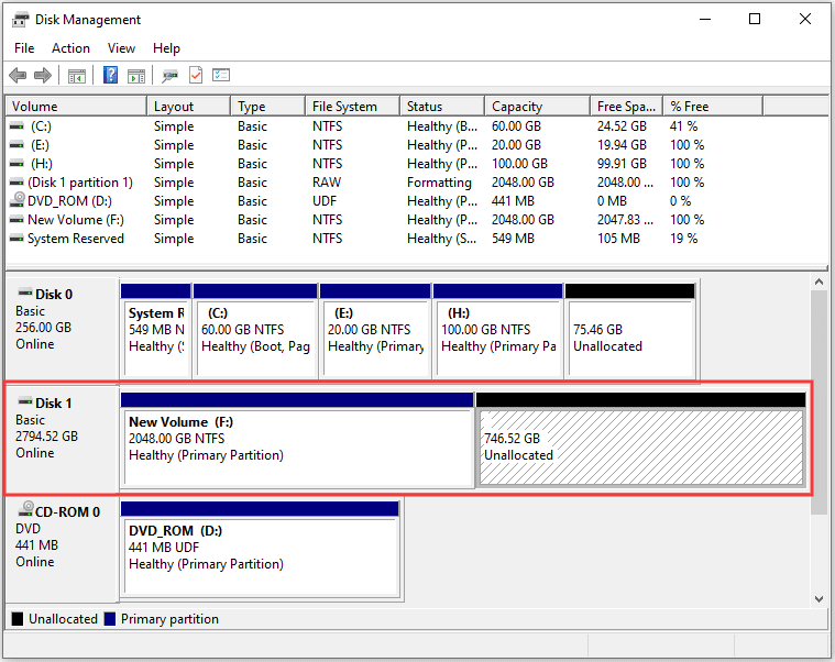 How to Fix: 3TB Hard Drive Only Uses 2TB