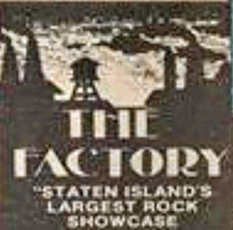 The factory rock club Staten Island, NY