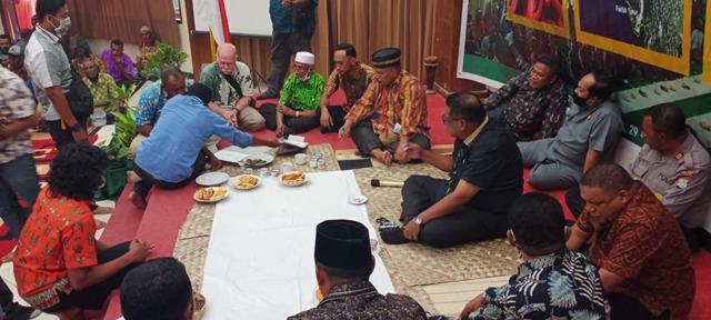 Sepakat adakan Wewowo, Tujuh Nadi Membahas Peta Wilayah Adat Petuanan Fakfak