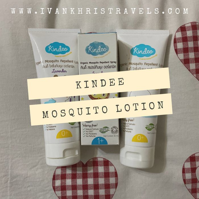 Kindee Organic Mosquito Repellant Lotion review