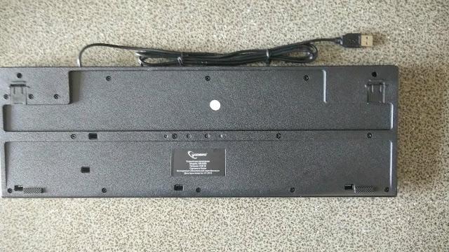 Тестирование, обзор, отзыв проводной клавиатуры GEMBIRD KB-8300