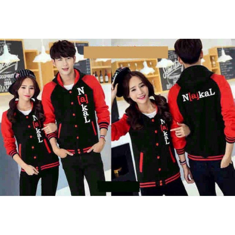 Jual Jacket Couple Jacket Kancing Nakal - 24055