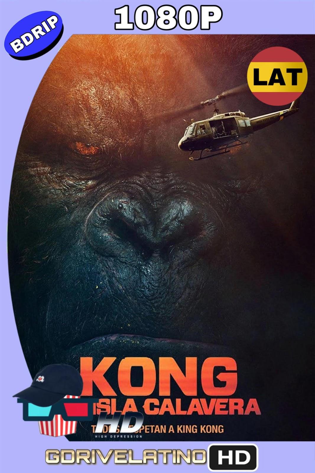 Kong: La isla Calavera (2017) BDrip 1080p (Latino-Inglés) MKV