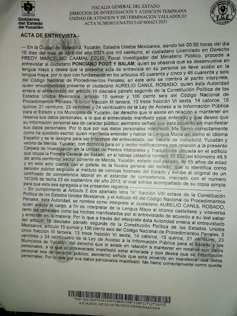 En Chemax agreden a septuagenario por impugnar candidatura de Liborio y Alpha