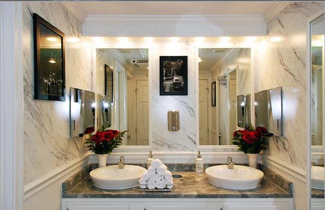 Vanity in Ladies Restroom