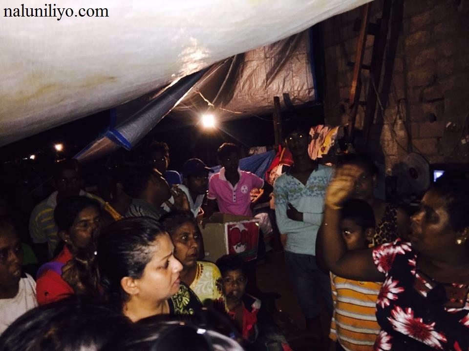 Janaki Wijerathne actress help in flood areas