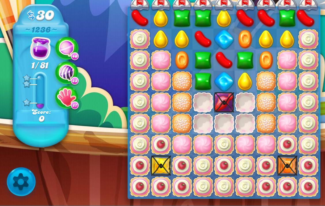 Candy Crush Soda Saga level 1236