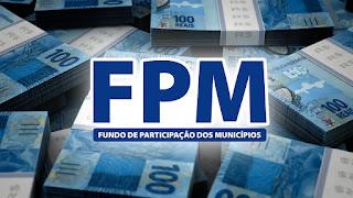 Cofres municipais recebem repasse do FPM no próximo dia 20; confira os valores