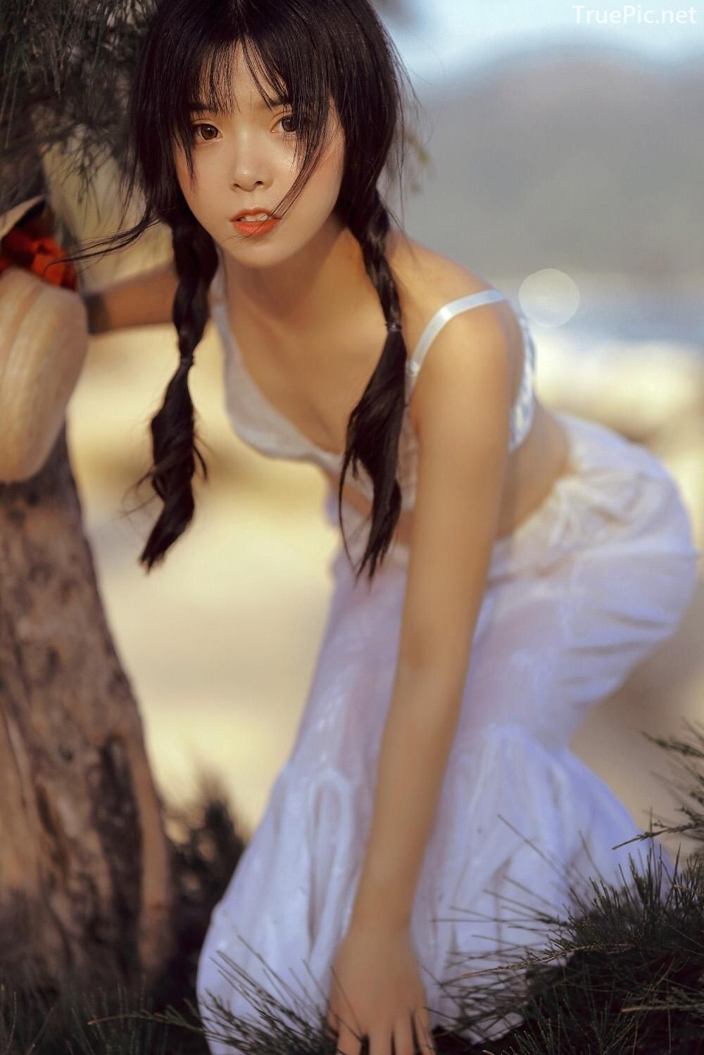 Chinese bautiful angel - Stay with you on a beautiful beach - TruePic.net - Picture 7