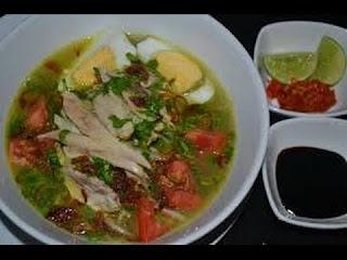 Cara Memasak Soto Ayam Kuah Santan Yang Lezat, resep soto ayam kuah santan yang enak, cara membuat soto ayam kuah santan yang nikmat