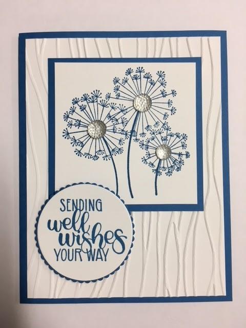 My Creative Corner!: Dandelion Wishes, Get Well Card, 2018-2019