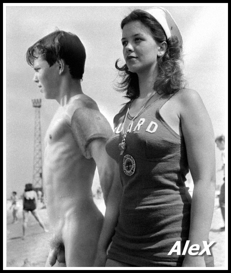 vintage cfnm swimming artwork