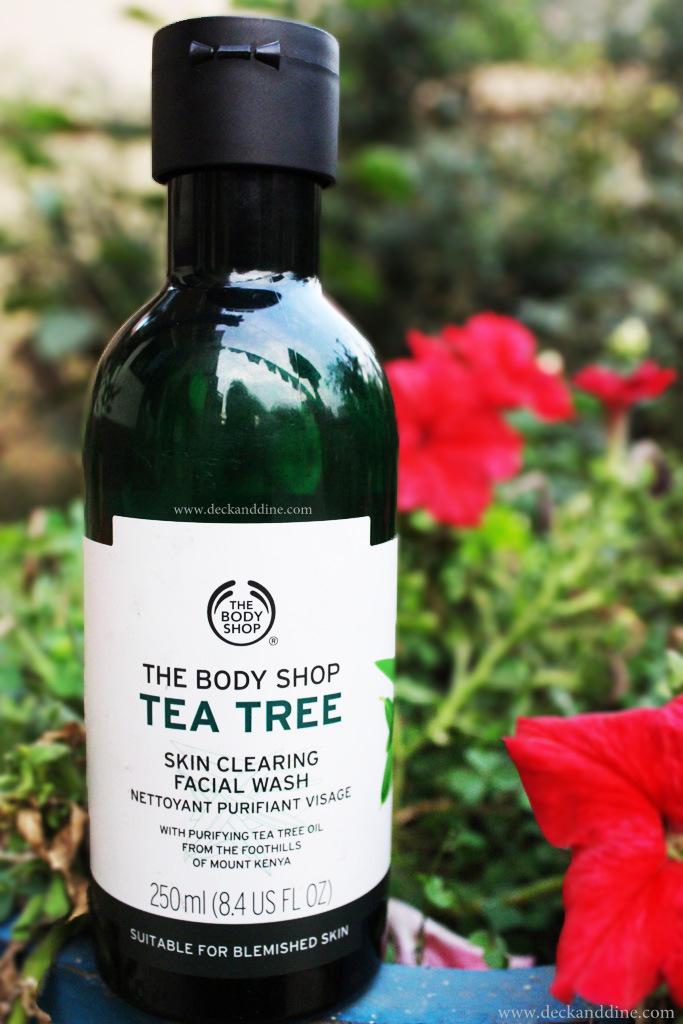 body shop tea tree face wash review