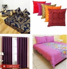 Home Furnishing (Bed Sheets, Comforter, Cushions, Pillow, Curtains, Bath Linen, Diwan Sets, Carpets) – Upto 90% Off+ Buy 2 Extra 25% Off or Buy 3 Extra 30% Off@ Flipkart