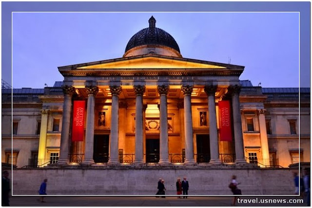 National Gallery - Top 7 Best Places to Travel in London, England at Least Once in Your Life Time
