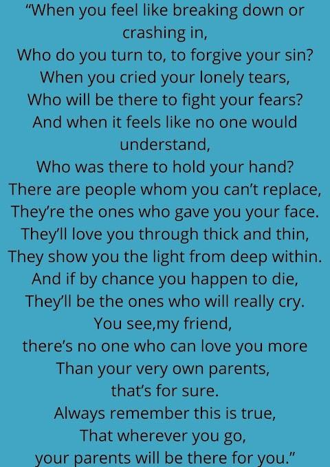 A Parent's Heart By Ann T. Tram
