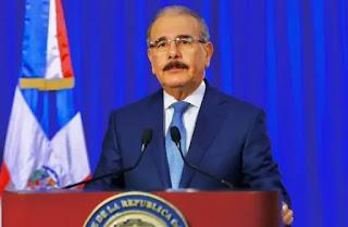 Danilo Medina hablará este miércoles a las 9:00 de la noche