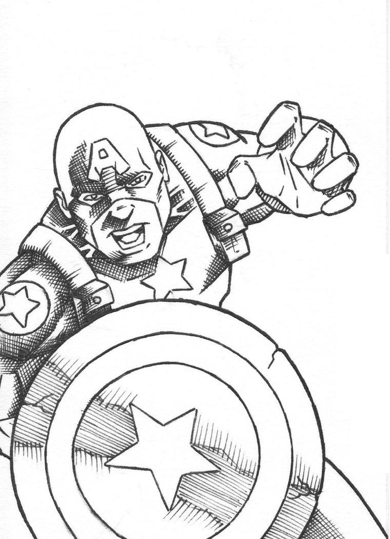 Desenhos do Capit£o América