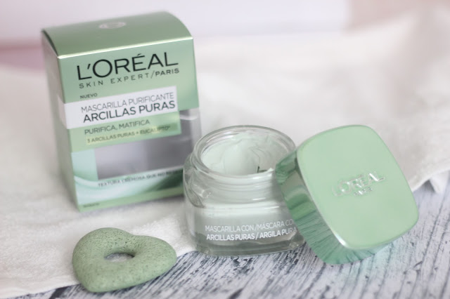 photo-l'oreal-paris-arcillas_puras-mascarilla-facial-purificante-verde-#efectodetox