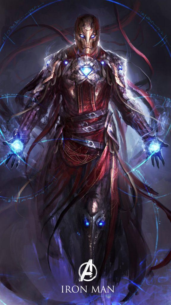 Homem de Ferro, por Yong Min Yong
