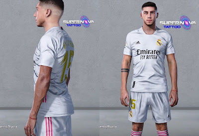 PES 2020 Tatoo Federico Valverde by Supernova