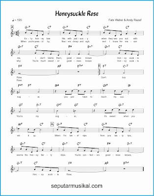 honeysuckle rose lagu jazz standar