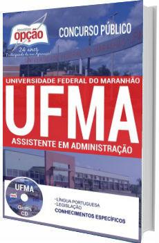 Apostila concurso UFMA 2017 Assistente em Administração