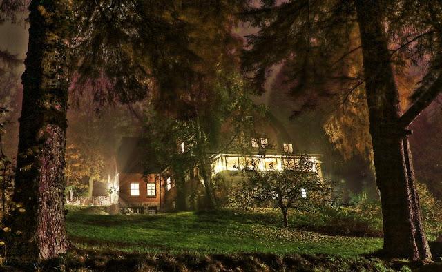 Reiterpension Marlie bei Nacht