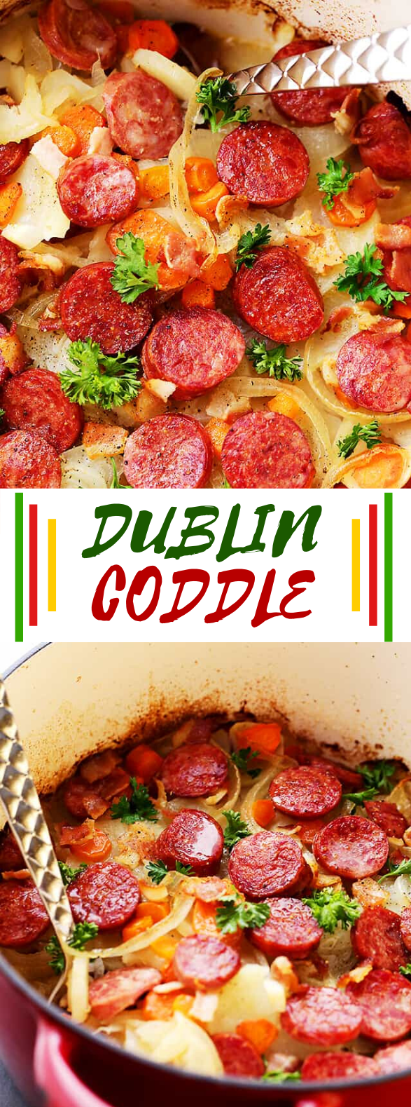 Dublin Coddle Recipe #dinner #winterrecipes