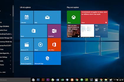 Throubleshoot Start Menu Windows 10 Tidak Berfungsi
