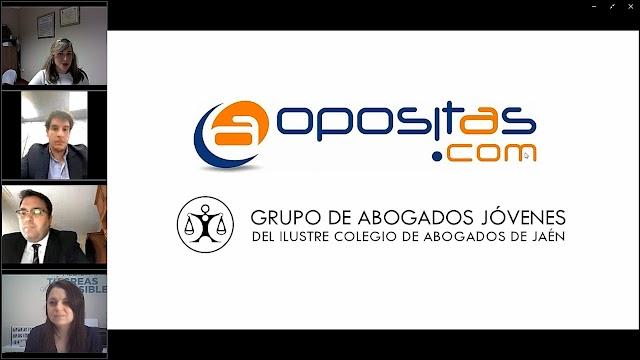 Convenio entre la Academia Opositas de Andújar y GAJ Jaén