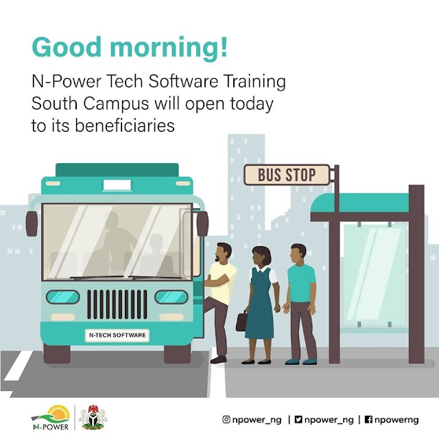 Npower Tech Software Training Commences Today In Southern Nigeria