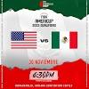 Los 12 que jugarán por México ante Estados Unidos