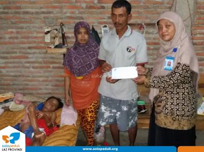 Santunan Kesehatan Solopeduli - Febriana Dewi Sholekhah
