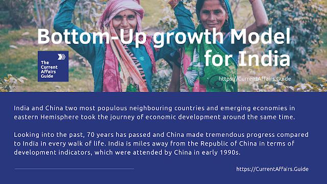 India desperately needs bottom-up growth model