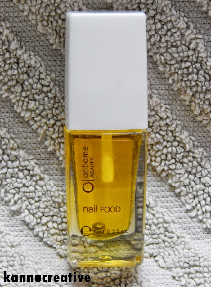 Oriflame Beauty Nail Food: Review + NOTD