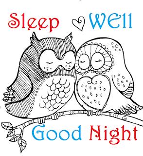 love birds good night wallpaper