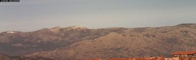 Sierra de Guadarrama sin nieve en pleno invierno