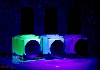 Night Owl Lacquer | Light & Bright Neon Creams