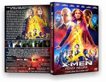 X-Men – Fênix Negra (2019) DVD-R AUTORADO