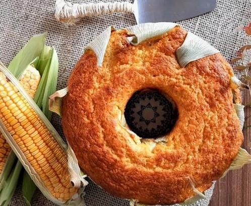 Caipira Green Corn Cake Recipe