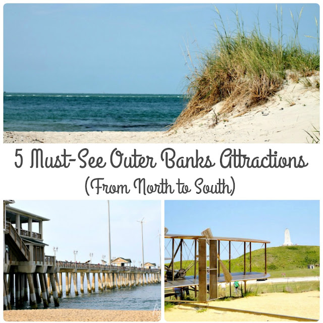 Traveling from the north to south, these are the 5 Must-See Outer Banks Attractions that are worth both your time & money.