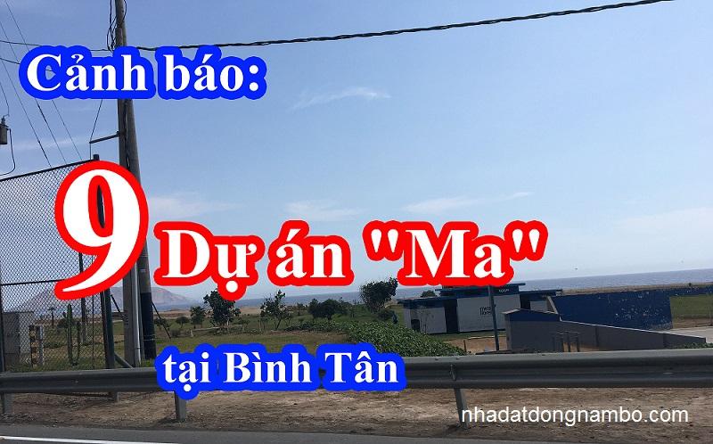 """Cảnh báo: 9 dự án """"ma"""" đất nền giá rẻ tại quận Bình Tân 2019"""