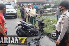 Kecelakaan Lalulintas Mobil VS Sepeda Motor di Jalan Raya Kopeng - Magelang, Satu Orang Meninggal Dunia