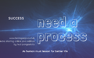 As human must lesson for better life the process