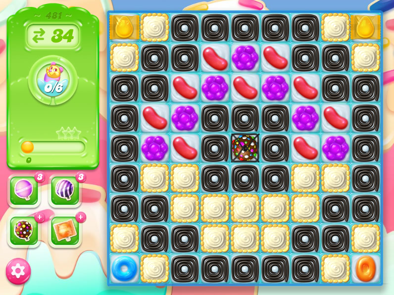 Candy Crush Jelly Saga 481