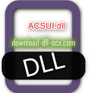 ACSUI.dll download for windows 7, 10, 8.1, xp, vista, 32bit