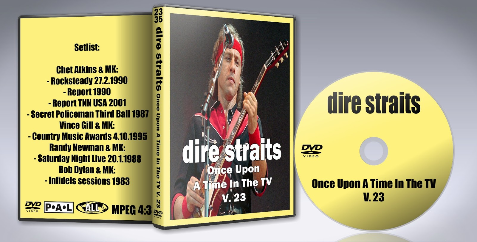 Deer5001RockCocert : Dire Straits - Once Upon A Time In The
