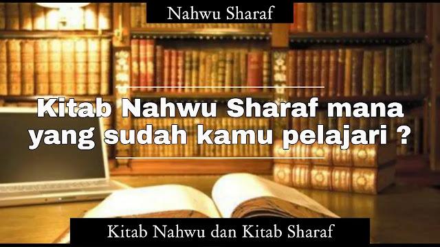 Kitab Nahwu Sharaf