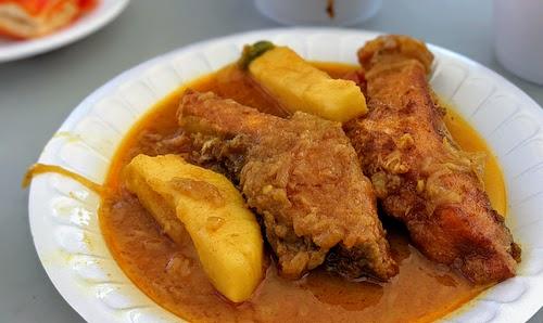 Puti fish curry